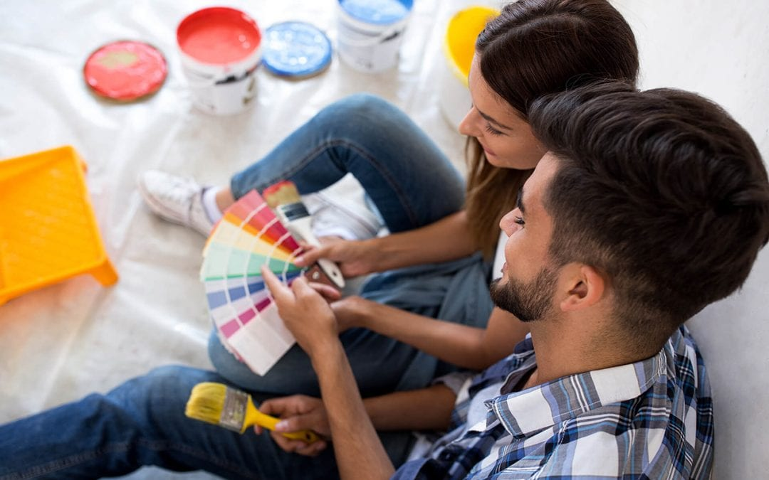 increase your homes value by repainting the interior
